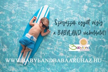 LAVENDER DESIGN - Babyland Babaáruház új weboldal FB promóció