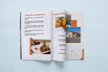 LAVENDER DESIGN - Autohof Étterem esküvői kiadvány