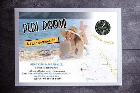 LAVENDER DESIGN - PEDI Room szórólap tervezése