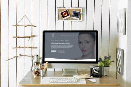 LAVENDER DESIGN - Horizontszépségstúdió weboldala