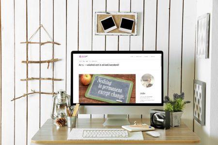 LAVENDER DESIGN - Julie blogja weboldal