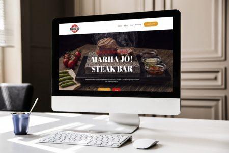 LAVENDER DESIGN - Marha Jó! Steak Bar weboldala