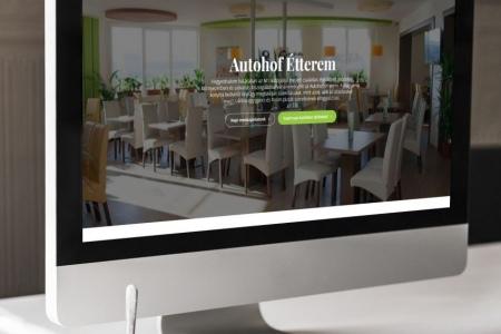 LAVENDER DESIGN - Autohof Étterem weboldala