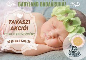 Babyland akció