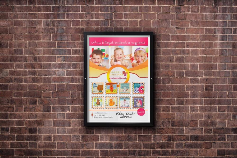 LAVENDER DESIGN - Happy children plakát