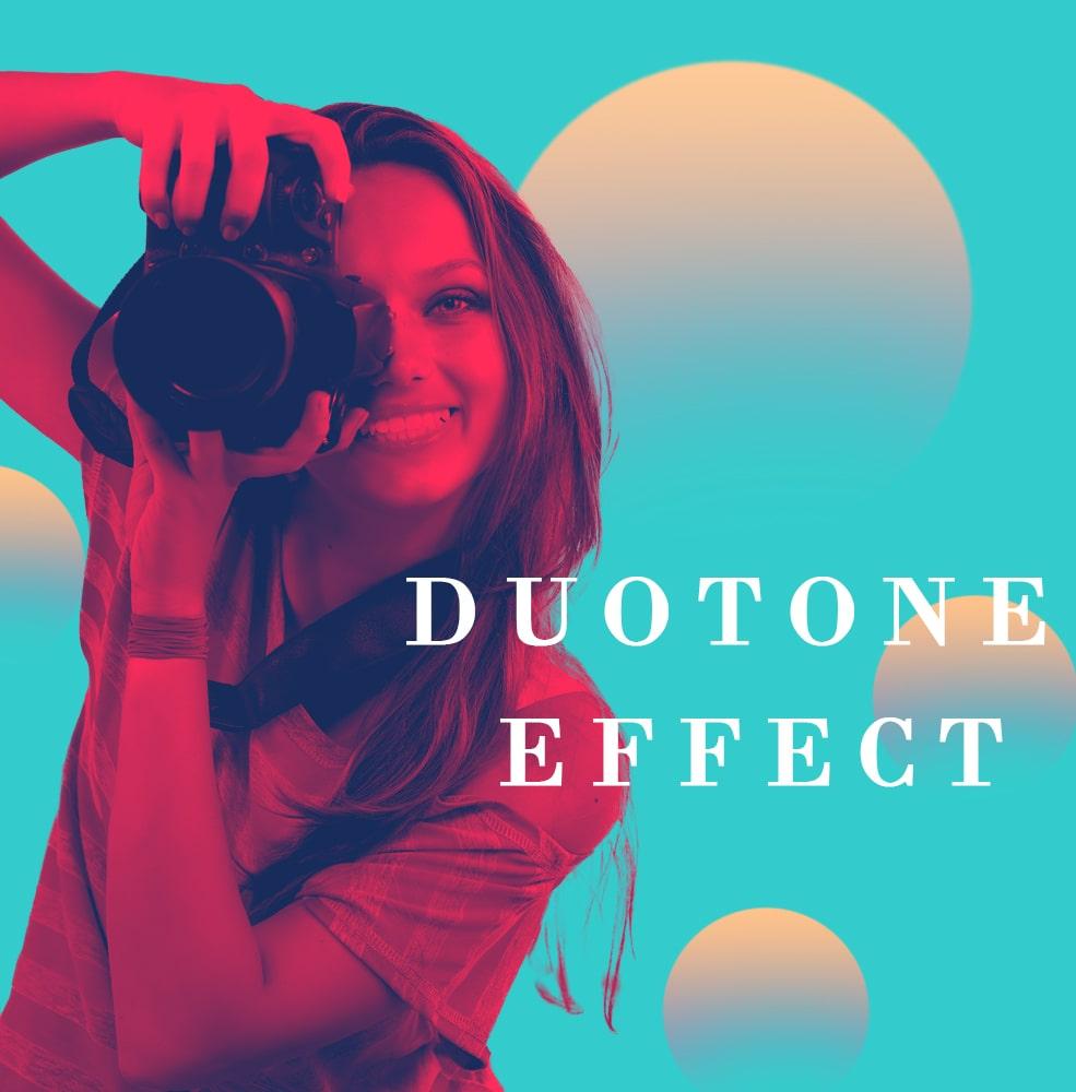 Duotone effect/LAVENDER Design