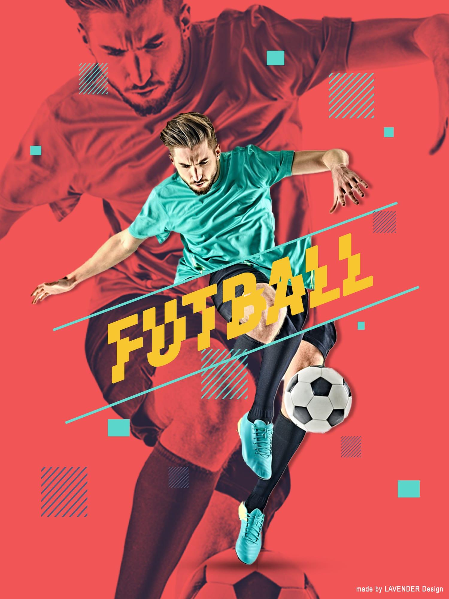 Sportplakát-terv LAVENDER Design